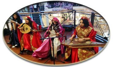 bayan müzik ekibi